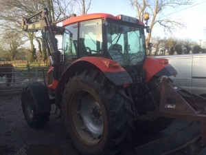 Zetor Forterra 141 reg for sale at William Foster Limited, Monaglough, Arklow, Co. Wicklow
